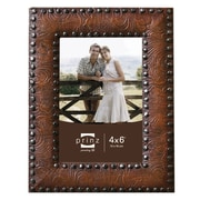 Prinz New Frontier Resin Picture Frame; 4'' x 6''