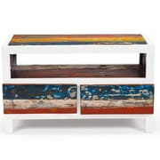EcoChic Lifestyles Cruise Control Reclaimed Wood TV Stand