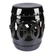 Abbyson Living Talia Stool; Black