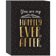 Prinz ''You Are My Happily Ever After'' Textual Art Plaque