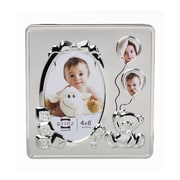 Prinz Pride and Joy Three Opening Silver Plated Picture Frame