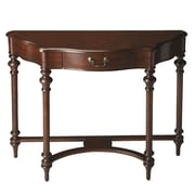 Butler Morency Console Table; Cherry
