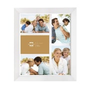 Prinz Five Opening Dakota Solid Wood Picture Frame; White