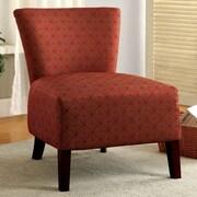 Hokku Designs Menara Side Chair; Red