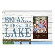 Prinz Lake Side 'Relax, You're at the Lake' Photo Plaque Picture Frame