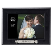 Prinz Newlywed 'The Wedding' Styrene Wood Grain Picture Frame