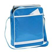 Preferred Nation Retro Messenger Bag; Blue