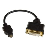 "StarTech 8"" Micro HDMI to DVI-D Adapter, Black"