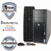 Refurbished HP Z210 2TB HDD 8G DDR3 RAM, XEON E3-1240 3.3GHz, W7Pro 64
