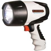 Black Decker 350-lumen 3-watt Waterproof Rechargeable LED Spotlight
