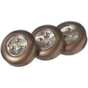Light It! Stick-on-light 3 Pk (bronze)
