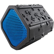 ECOXGEAR Ecopebble Rugged & Waterproof Wireless Bluetooth Speaker, Manufacturer Refurbished - Blue