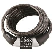 Wordlock Combination Non-resettable Cable Lock (black)