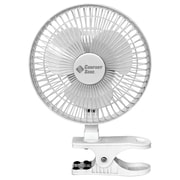 "Comfort Zone 6"" Clip-on Fan"