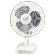 "Comfort Zone 6"" Table Fan (white)"