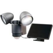 Maxsa Innovations Bright Dual-head Solar Security Light (dark Bronze)