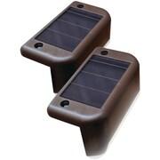 Maxsa Innovations Solar-powered Deck Lights, 4 Pk