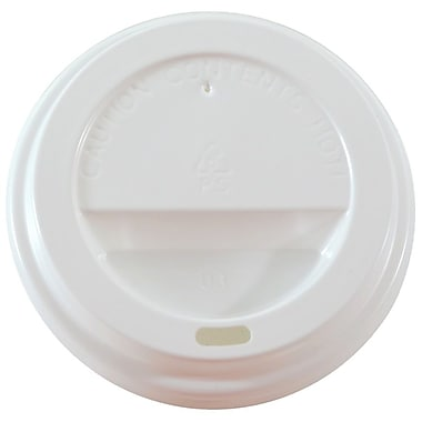 Dome Lid for 10oz, 12oz, 16oz Cups, White