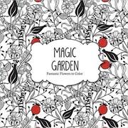 Barron's Adult Colouring Book, Magic Garden