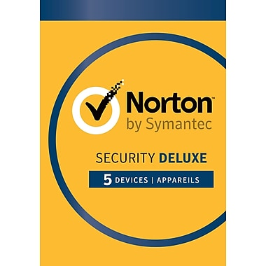 Norton Security Deluxe, jusqu'à 5 dispositifs