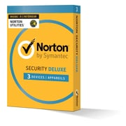 Norton Security Deluxe Plus Norton Utilities, Up to 3 Devices