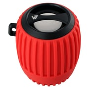 V7® SP5100 Water Resistant Bluetooth Speaker, Red