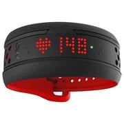 Mio Fuse Heart Rate Training and Activity Tracker, Crimson (59P-LRG-INT)