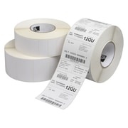 Zebra Barcode Label, White, 4/Pack (10015364)