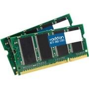 Add On DDR2800SKIT 4GB (2 x 2GB) DDR2 200-Pin SDRAM SODIMM PC2-6400 RAM Module