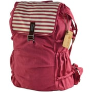 RaniPak Melrose Red Canvas Backpack (B3214CR)