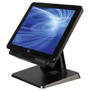 "ELO X-Series 15"" All-in-One Desktop Touchcomputer, Intel Celeron Quad-Core J1900 2.41 GHz, Black (E126848)"