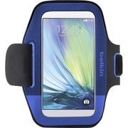 Belkin Sport-Fit Armband for Use with Samsung Galaxy S6, Blue (F8M968-C01)