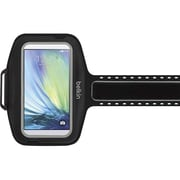 Belkin Sport-Fit Plus Armband for Use with Samsung Galaxy S6, Black (F8M942-C00)