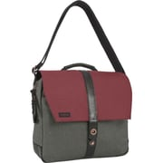 Timbuk2 Sunset Red Devil/Black Poly Chambray Satchel Bag (107-3-5999)