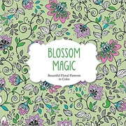 Barron's Adult Colouring Book, Blossom Magic