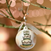 Glory Haus Wedding Cake Ball Ornament