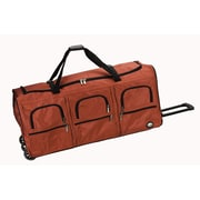 Rockland 40'' 3-Wheeled Travel Duffel; Red