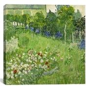 iCanvas ''Daubigny's Garden'' Canvas Wall Art by Vincent van Gogh; 37'' H x 37'' W x 0.75'' D