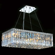 Worldwide Lighting Cascade 6 Light Crystal Chandelier