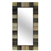 Crestview Resin Checkerboard Wall Mirror