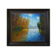 Tori Home Monet Autumn at Argenteuil Hand Painted Oil on Canvas Wall Art