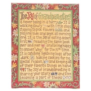 Glory Haus Joy of Grandparenting Table Top Textual Art on Canvas