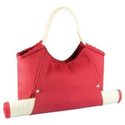 Picnic Time Cabo Beach Tote & Mat; Red