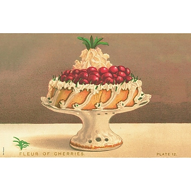 Belle Banquet Cherry Cake Placemat (Set of 6)