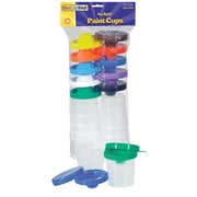 Chenille Kraft No Spill Paint Cups 10/pk Dual Lid