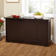 TMS Pacific Stackable Storage with Wood Door