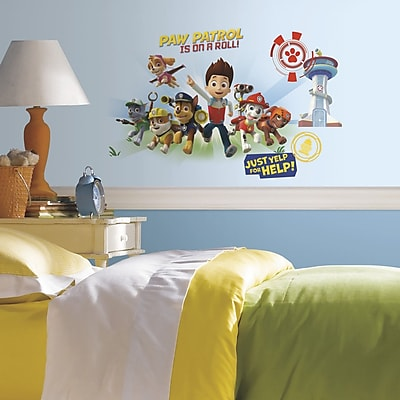 Room Mates Popular Characters Paw Patrol Wall Decal WYF078277421131