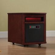 Duraflame 1,500 Watt Portable Electric Infrared Cabinet Heater; Dark Cherry