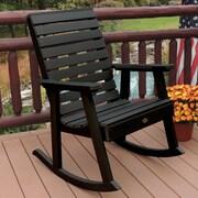 Highwood USA Weatherly Rocking Chair; Black