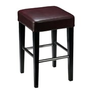 Cortesi Home 24'' Bar Stool; Merlot Wine Red